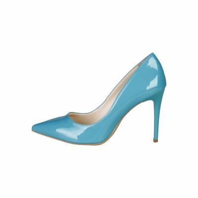 Pantofi cu toc V 1969 VIOLAINE Albastru