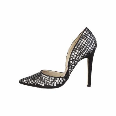 Pantofi cu toc V 1969 YOLANDE Negru
