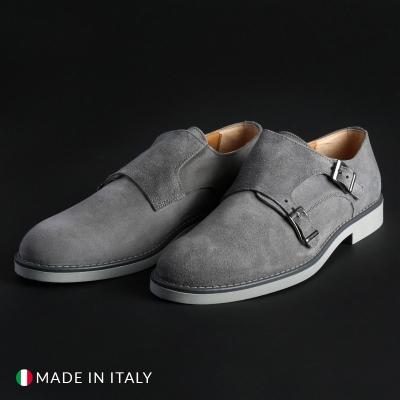 Pantofi Madrid 600_CAMOSCIO Gri