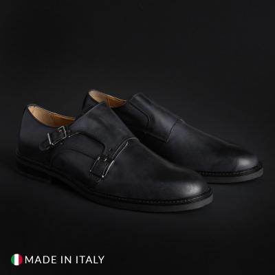 Pantofi Madrid 600_PELLE Negru