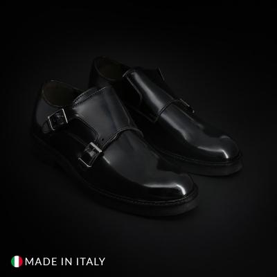 Pantofi Duca Di Morrone CL600_ABRASIVATO Negru