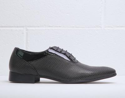 Pantofi siret Duca Di Morrone ARTHUR Negru