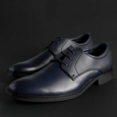 Pantofi siret Duca Di Morrone BART Albastru