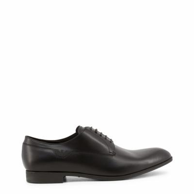 Pantofi siret Emporio Armani X4C347_XC157 Negru