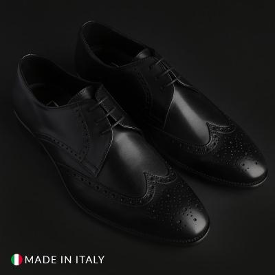 Pantofi siret Made In Italia VIENTO Negru