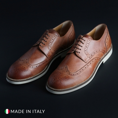 Pantofi siret Madrid 606_CERATO Maro