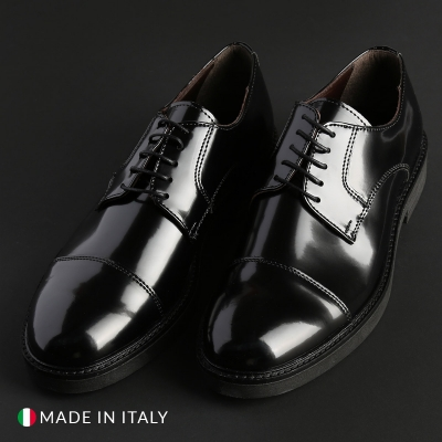 Pantofi siret Madrid CL605_ABRASIVATO Negru