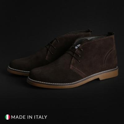 Pantofi siret Marco Nils 233_CAMOSCIO Maro