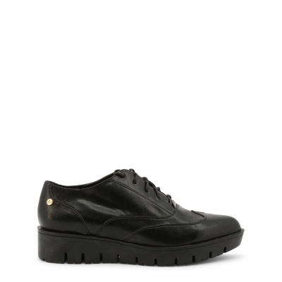 Pantofi siret Roccobarocco RBSC0UW02STD Negru