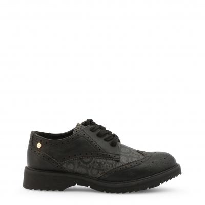 Pantofi siret Roccobarocco RBSC1JR01CRY Negru