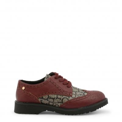 Pantofi siret Roccobarocco RBSC1JR01CRY Rosu