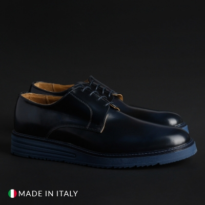 Pantofi siret Sb 3012 06_BONUCCI-ABRAS Albastru
