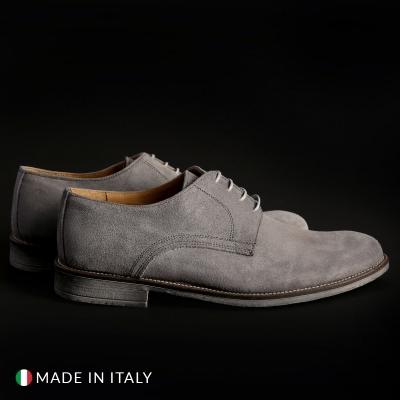 Pantofi siret Sb 3012 06_CAMOSCIO Gri