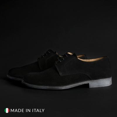 Pantofi siret Sb 3012 06_CAMOSCIO Negru