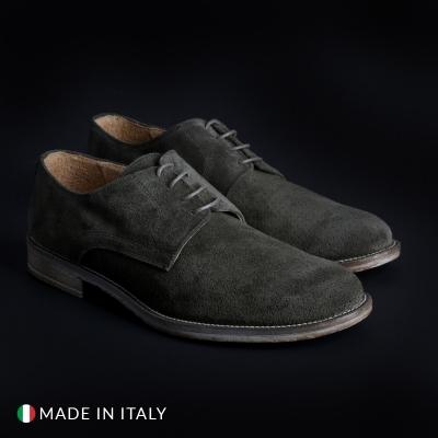 Pantofi siret Sb 3012 06_CAMOSCIOBUCATO Verde