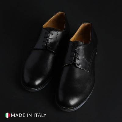 Pantofi siret Sb 3012 06_CRUST Negru