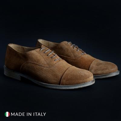 Pantofi siret Sb 3012 1003_CAMOSCIO Maro