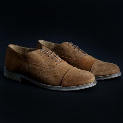 Pantofi siret Sb 3012 1003D_CAMOSCIO Maro