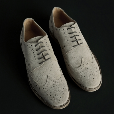 Pantofi siret Sb 3012 208D_CAMOSCIO Maro