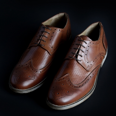 Pantofi siret Sb 3012 208D_PELLE Maro