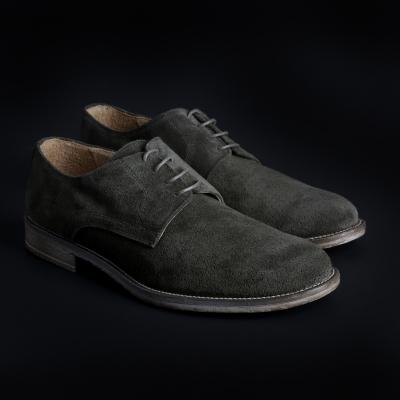 Pantofi siret Sb 3012 O6D_CAMOSCIO Verde
