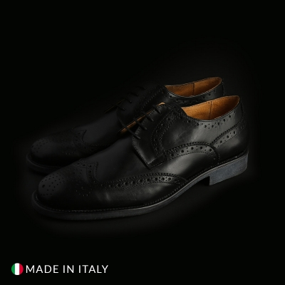Pantofi siret Sb 3012 S2D_PELLE Negru