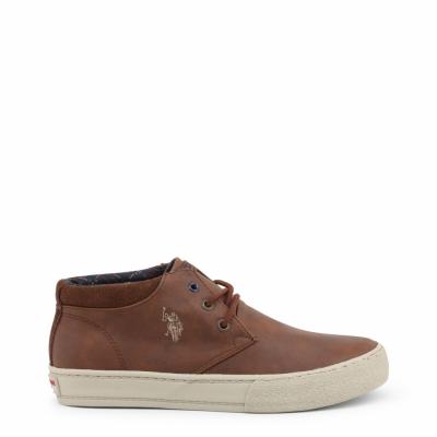 Pantofi siret U.s. Polo GALAN4143W8 Maro
