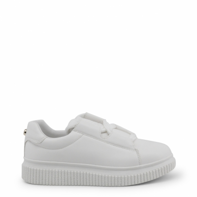 Pantofi sport Blu Byblos CASSETTA_682101 Alb
