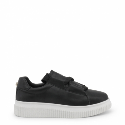 Pantofi sport Blu Byblos CASSETTA_682101 Negru