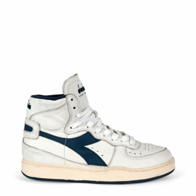 Pantofi sport Diadora Heritage MI_BASKET_USED Alb