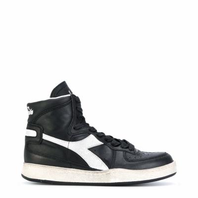 Pantofi sport Diadora Heritage MI_BASKET_USED Negru