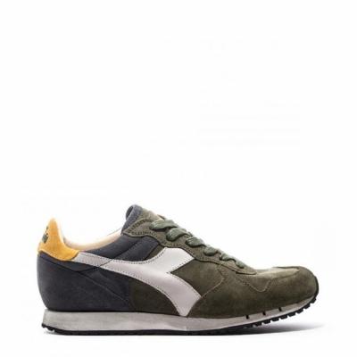 Pantofi sport Diadora Heritage TRIDENT_S_SW Verde