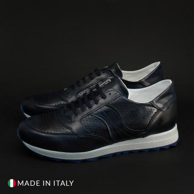 Pantofi sport Duca Di Morrone 405_MORATA_CRUST Albastru