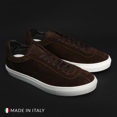 Pantofi sport Duca Di Morrone SERENA_CAMOSCIO Maro