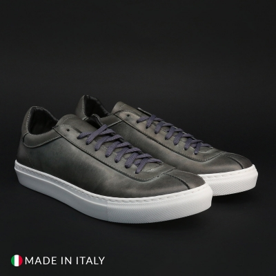 Pantofi sport Duca Di Morrone SERENA_PELLE Gri