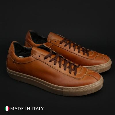Pantofi sport Duca Di Morrone SERENA_PELLE Maro
