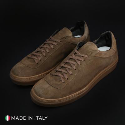 Pantofi sport Duca Di Morrone SERENA42_CAMOSCIO Maro