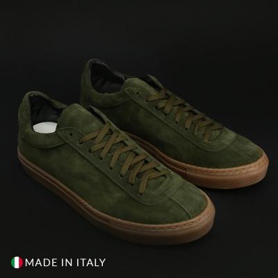Pantofi sport Duca Di Morrone SERENA42_CAMOSCIO Verde