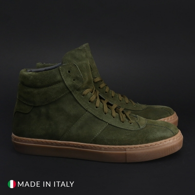 Pantofi sport Duca Di Morrone SS20_CAMOSCIO Verde