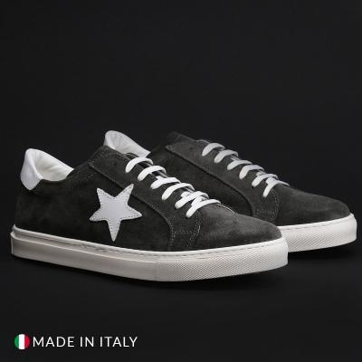 Pantofi sport Duca Di Morrone VIRGILIO-STELLA Gri