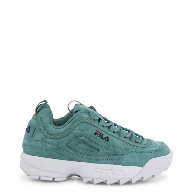 Pantofi sport Fila DISRUPTOR-S-LOW_1010605 Verde