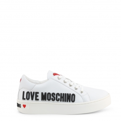 Pantofi sport Love Moschino JA15063G1BIA Alb