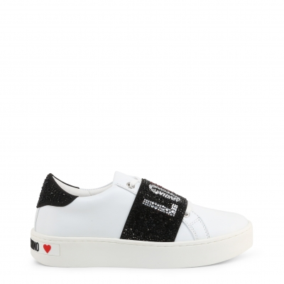 Pantofi sport Love Moschino JA15103G1BIA Alb