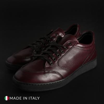 Pantofi sport Madrid BAL9442D_PELLE Rosu