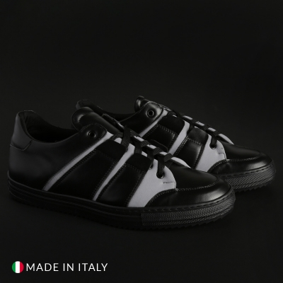 Pantofi sport Madrid MIST1D_PELLE Negru