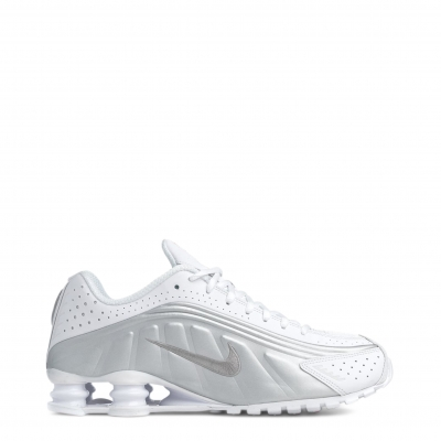 Pantofi sport Nike ShoxR4 Alb