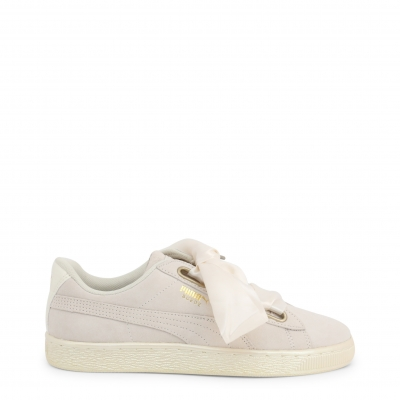 Pantofi sport Puma 362714-SuedeHeart Alb