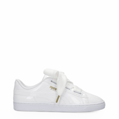 Pantofi sport Puma 363073-BasketHeartPatent Alb