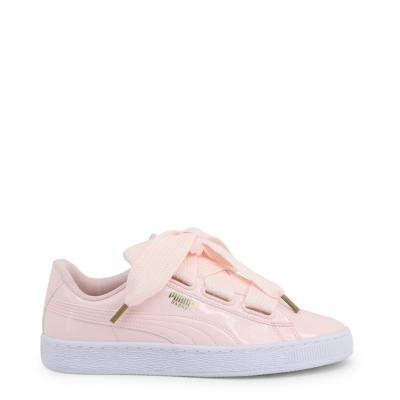 Pantofi sport Puma 363073-BasketHeartPatent Roz
