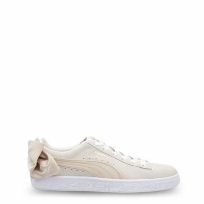 Pantofi sport Puma 367732-SuedeBowVaristy Alb